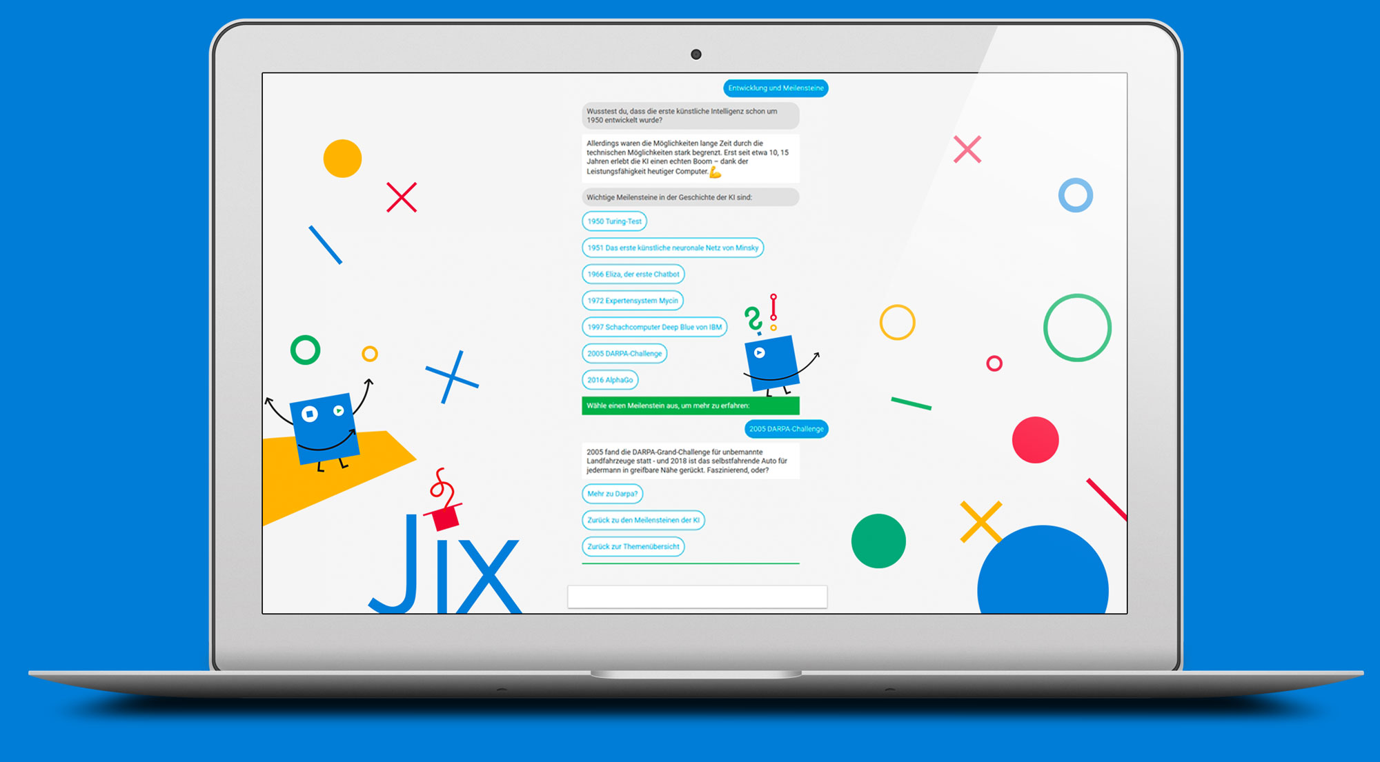 Conversational Learning mit Jix